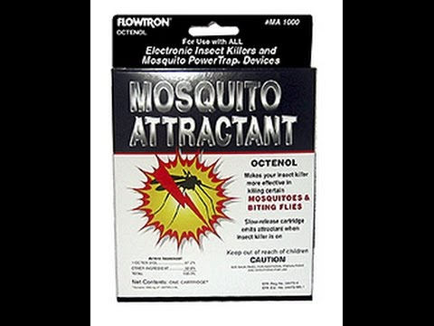 How to replace Flowtron mosquito attractant cartridge