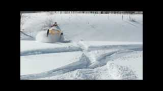 Snowmobiling GoPro Hero3