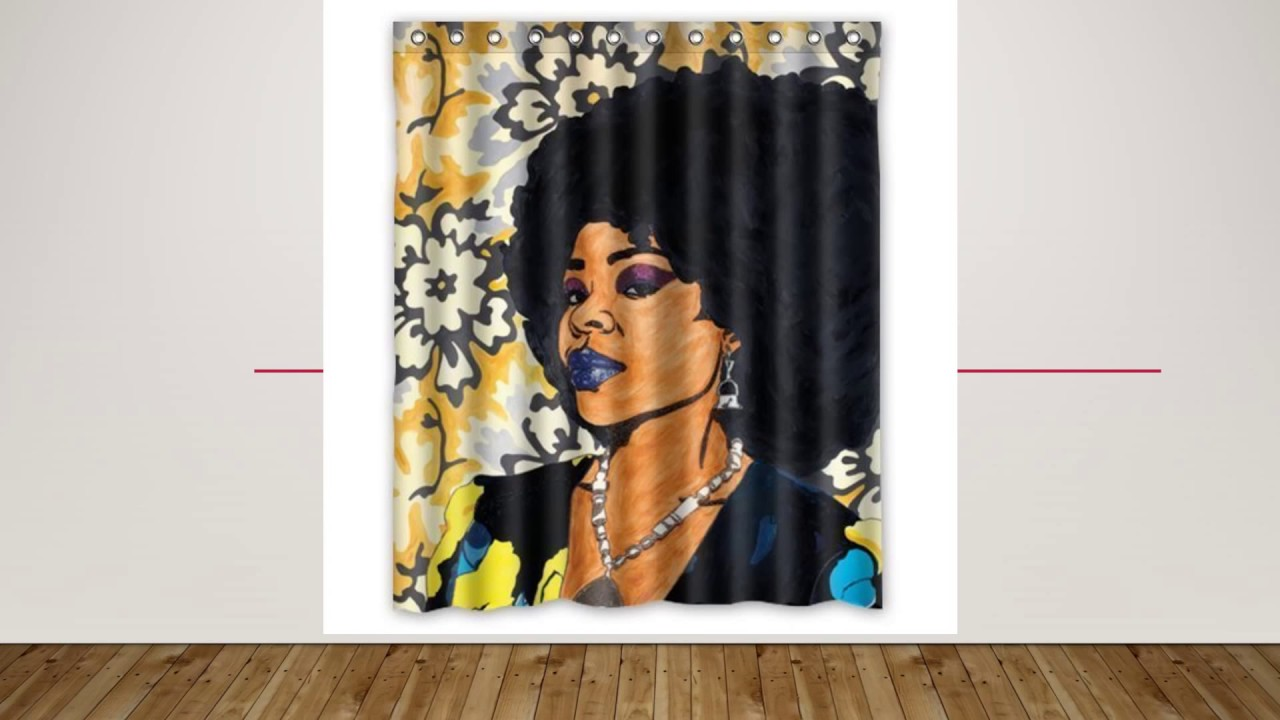 Afrocentric Shower Curtains That POP