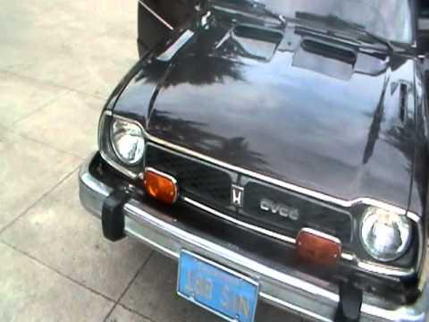1977 Honda Civic Cvcc Station Wagon Youtube