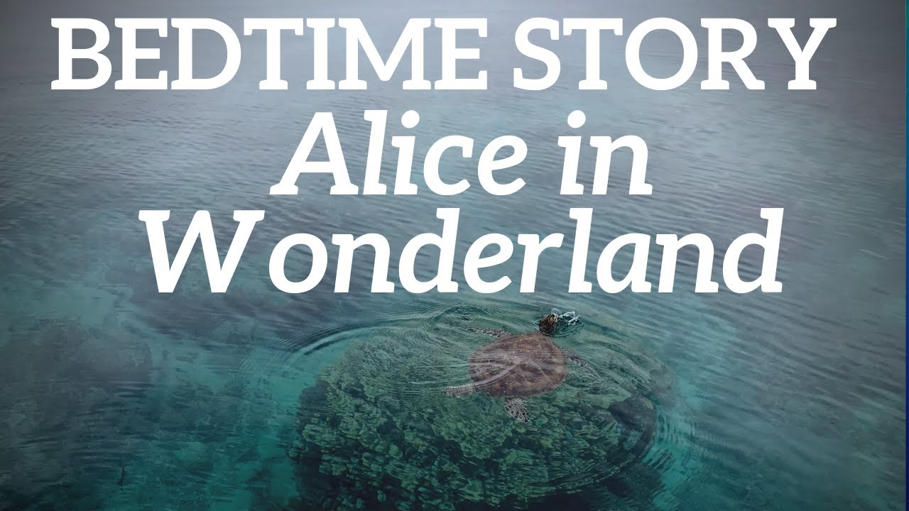 Bedtime Stories for Adults | Alice in Wonderland ❤️ Alice Meets the Turtle 🐢 Chapter 9 Without Music