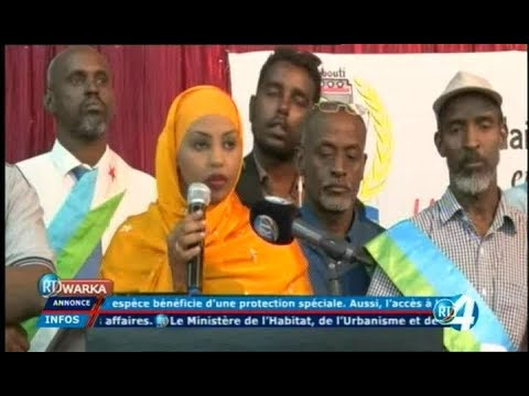 Télé Djibouti Chaine Youtube : JT Somali du 13/01/2018
