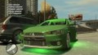 Grand Theft Auto IV - Mitsubishi Lancer Evolution X