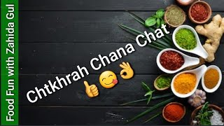 Chatkahra Chana Chat | by Food Fun with Zahida Gul | taste without time waste 👍😊