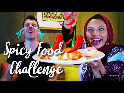 Spicy food challenge ! | 🌶 تحدّي أكل الفلفل