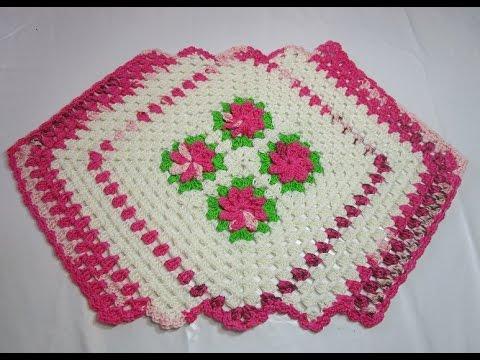 Uncinetto crochet tutorial centro tavola curto youtube - Centro tavolo all uncinetto ...