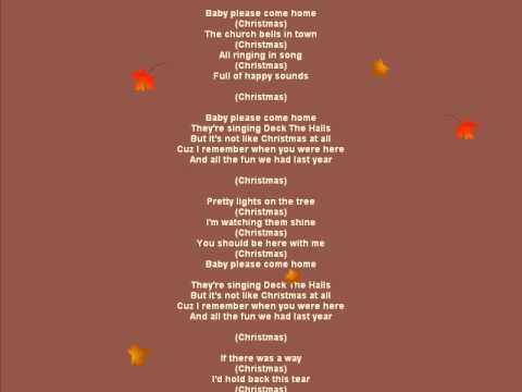 Christmas-Baby Please Come Home - Mariah Carey.avi - YouTube