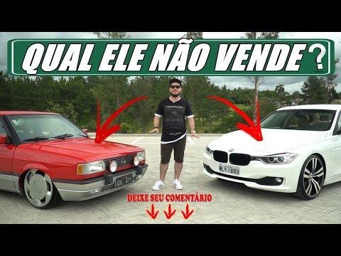 Paixões divididas - Gol GTI e BMW SÉRIE 3 BOM GOSTO EM GAROTO! Canal 7008Films