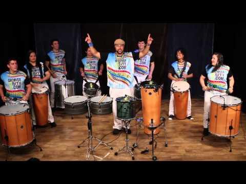 Marcus Santos - Samba Reggae Play Along