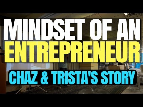 Mindset of an Entrepreneur (Our Journey) | 1st Speaking Event!