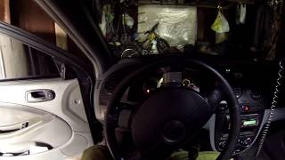 Почему не заводится автомобиль на холодную с утра Шевроле Лачетти