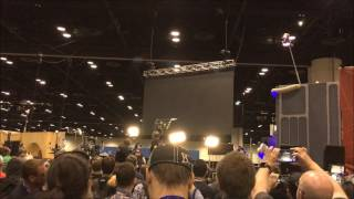 Star Wars Celebration Floor Reaction to The Last Jedi Trailer Reveal