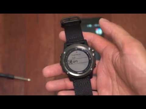 Honest Garmin Fenix 3 HR Unboxing, NATO Strap Change, and Garmin Connect App