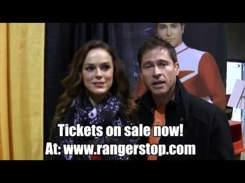 RangerStop 2  It's Time for Time Force! Jason Faunt, Erin Cahill, and Michael Copon!