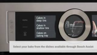 Bake the best cakes with Bosch PerfectBake