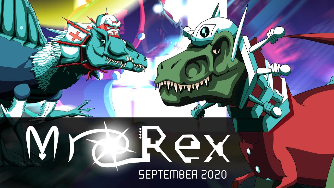 """Check out Dynostorm's """"Mr. Rex"""" Game"""