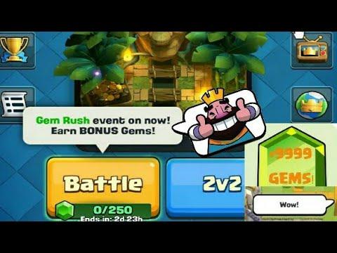 Clash Royale | Gem Rush Event | Earn Bonus Gems | GAMEPLAY | Full Explain | Clash With Bhargav
