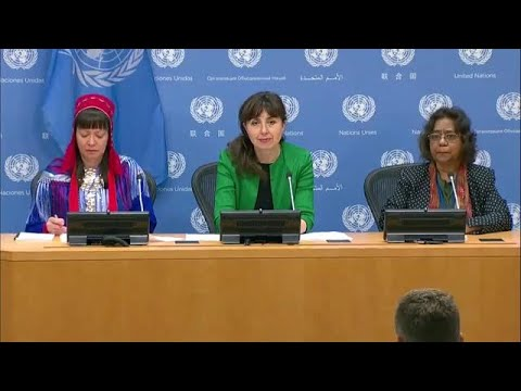 Indigenous Issues Forum - Press Conference (22 April 2019)