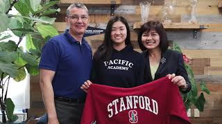 No. 1 in the Rolex AJGA Rankings Rose Zhang - Pacific Academy Testimonial
