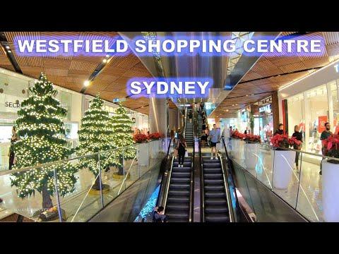 4K Walking Through Westfield Shopping Centre In Pitt Street Sydney - Australia Tourism
