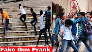 Fake Gun Prank In Public Unique Style   Prank In India   Ar Prank screenshot 4