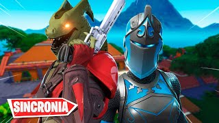 A SINCRONIA DESSA DUPLA É INSANA - Fortnite ( Battle Royale ) Ft. SPOP