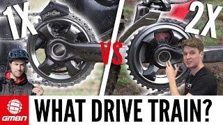 Shimano 1x vs 2x   Which Drive Train Is Better For Mountain Biking?