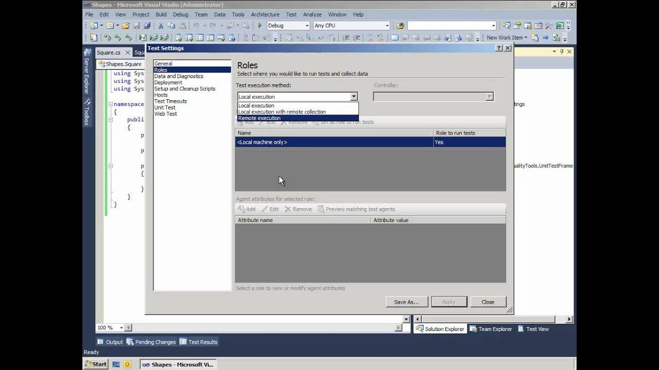 Team Foundation Server 2010 for Developers, part 3 - Unit Tests
