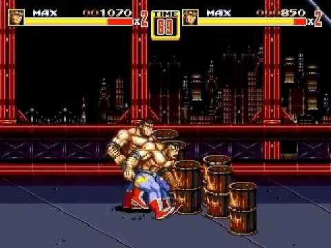 Streets of Rage 2 - Launched Max Glitch