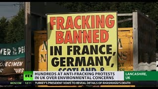 'Fracking Three' released as judge slams original ruling as 'manifestly excessive'