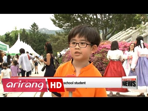 Adults revist childhood, children are celebrated at National folk museum of Korea