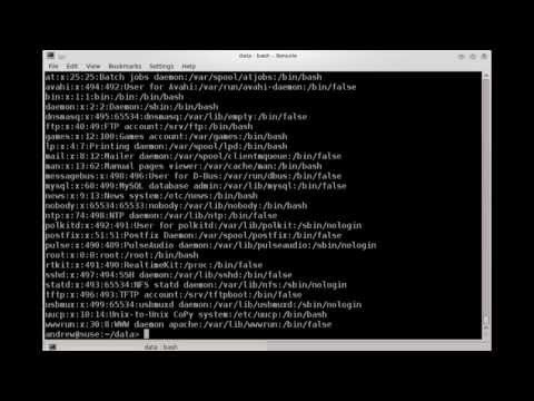 Searching and Extracting Data From Files - Linux Essentials
