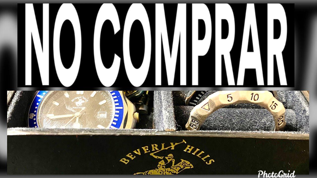 No Compres Relojes De Moda Como El Beverly Hills Polo Club Son Una Porqueria Peor Reloj Youtube