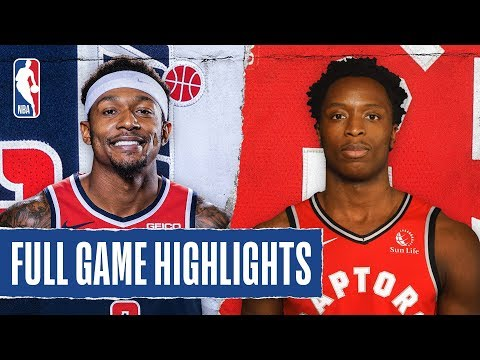WIZARDS At RAPTORS | FULL GAME HIGHLIGHTS | January 17, 2020