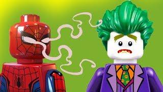 Ночные страшилки Часть 2 Человек паук, Бэтмен, Джокер новые мультики для детей 2017 Лего #мультфильм