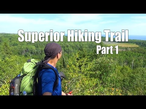 Superior Hiking Trail – 14 days 240 miles – Part 1 of 2