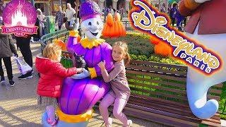 Диснейленд это Сказка в реальности Фейерверки 2018 Disneyland Paris Fireworks show