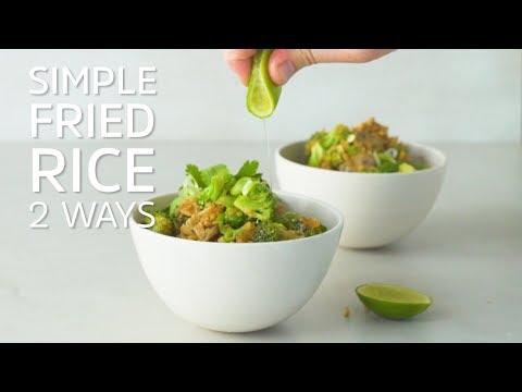 Simple Fried Rice 2 Ways
