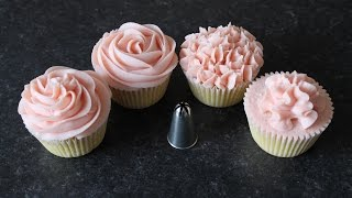 How To Pipe Perfect Buttercream Cupcakes