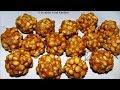 Pottukadalai Urundai Recipe in Tamil/Pottu Kadalai Urundai/Roasted gram Ladoo/Porikadalai Urundai