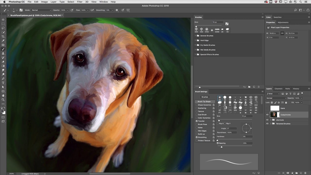 New Brush Preset Management in Photoshop CC