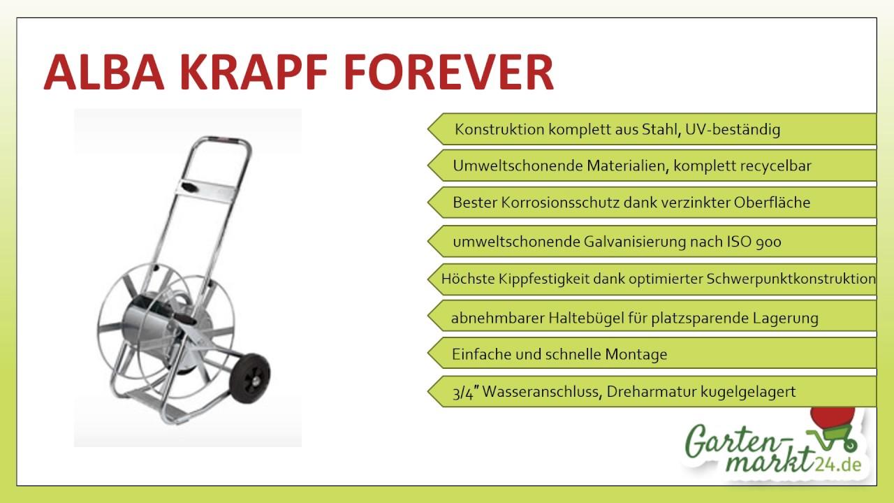 schlauchwagen alba krapf forever - youtube