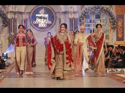 Latest  Pakistani and Indian Mix Wedding Bridal Dresses 2016