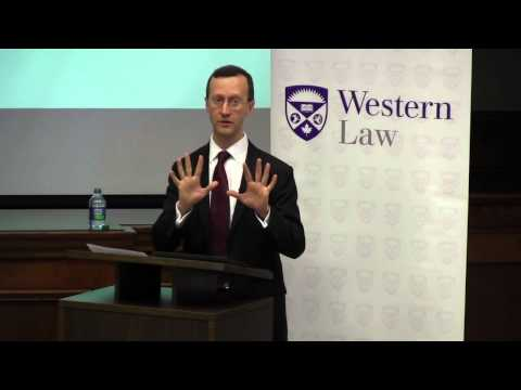 "Professor Timothy Endicott, ""Interpretation and the Rule of Law"""