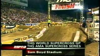 2005 AMA Supercross Rd 16 Las Vegas