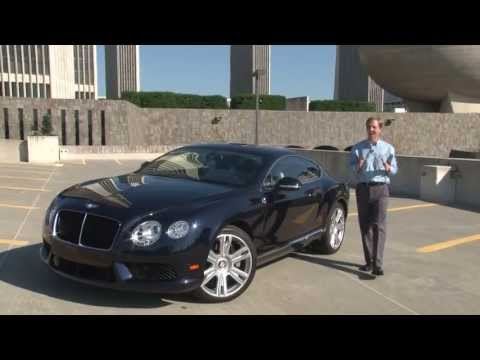 2013 Bentley Continental GT V8 - Drive Time Review with Steve Hammes | TestDriveNow