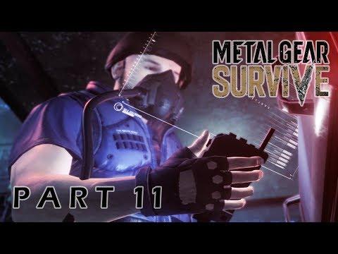 Metal Gear Survive PC Walkthrough Gameplay Part 11 – No Oxygen
