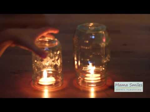 Candle oxygen experiment