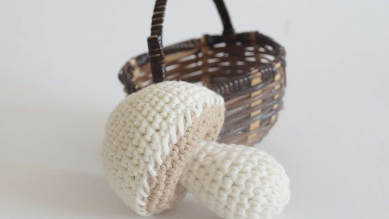 How To Make Crocheted Children's Toy Champignon - DIY Crafts Tutorial -  Guidecentral