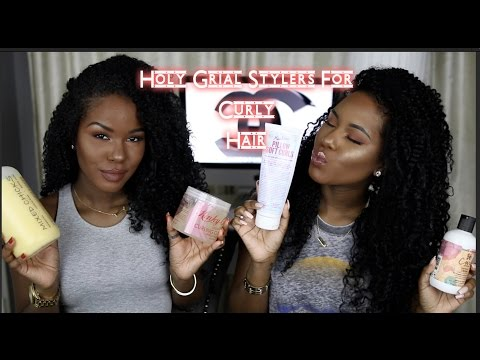 Holy Grail Stylers For Curly Hair